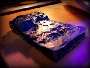 Benchy on ocean 3D print